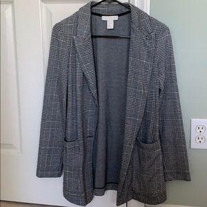 H&M Checkered Blazer